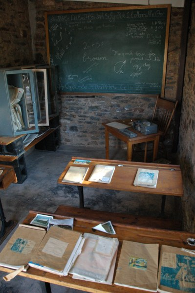'School of the Air' classroom where Ben spent many of his childhood days